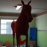 Il cavallo del rione Luzzatti - IC Bonghi plesso Ascarelli