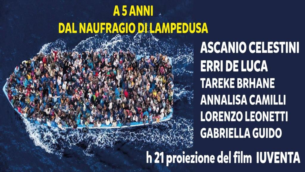 a 5 anni dal naufragio di Lampedusa