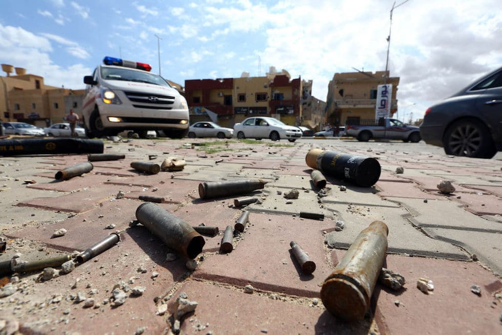 Scontri tra milizie a Tripoli_Fonte: TpiNews