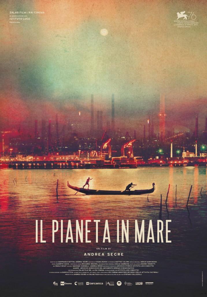 Il Pianeta in Mare poster ufficiale di Marco Lovisatti