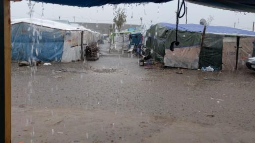 Le condizioni dei lavoratori nella tendopoli di San Ferdinando