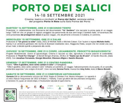 PORTO DEI SALICI - PROGRAMMA